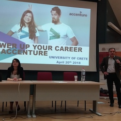 Career day with Accenture, 2018-04-20